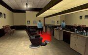Reece's Friseur-Salon von innen