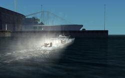 Speedboot-Launch