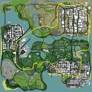 Sanandreas map