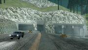 Bayside Tunnel Ost-Seite