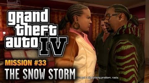 GTA 4 - Mission 33 - The Snow Storm (1080p)