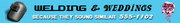 Welding-&-Weddings-Schild, SA