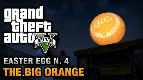 GTA 5 - Easter Egg 4 - The Big Orange-0