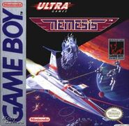 Gradius GB Cover
