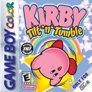 Kirby Tilt 'n' Tumble Cover