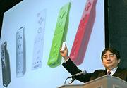 Satoru Iwata Wii