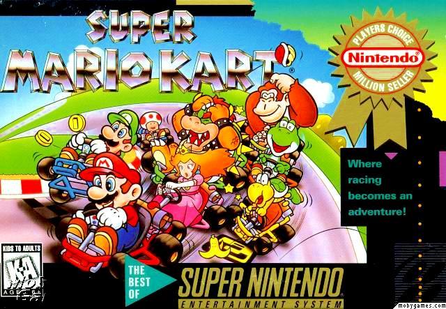 Datei:Super Mario Kart Cover.jpg