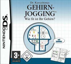 Dr. Kawashimas Gehirn-Jogging Cover
