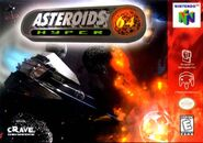 Asteroids Hyper 64 Cover