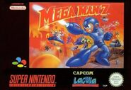 Mega Man 7 Cover