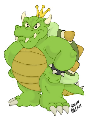 King Koopa for Beau Skunk by Inflation Ficsation