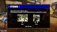 Dead rising demo items screen (2)