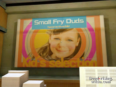Dead rising pp small fry duds sign