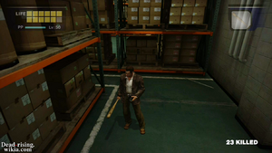 Dead rising warehouse lead pipe full screen