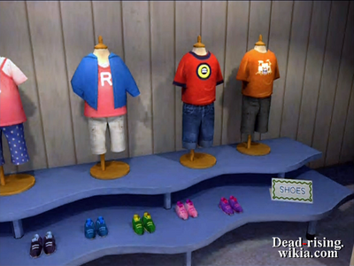 Dead rising pp Scuffs and Scrapes red shirt