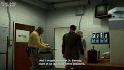 Dead rising case 2-1 image in monitor