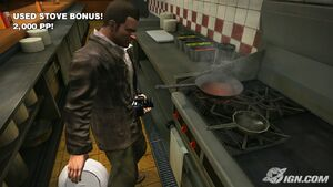 Dead rising IGN frying pan stove