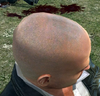 Dead rising clothing Shaved Head