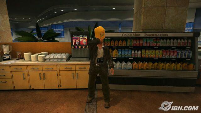 File:Dead rising drinking orange juice.jpg