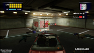 Dead rising pp maintence tunnel meat processing area delivery truck damaged