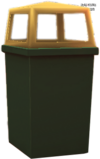 Dead rising Plastic Garbage Can