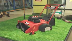 Dead rising lawn mower