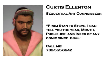 Dead rising 2 Curtis Ellenton business card