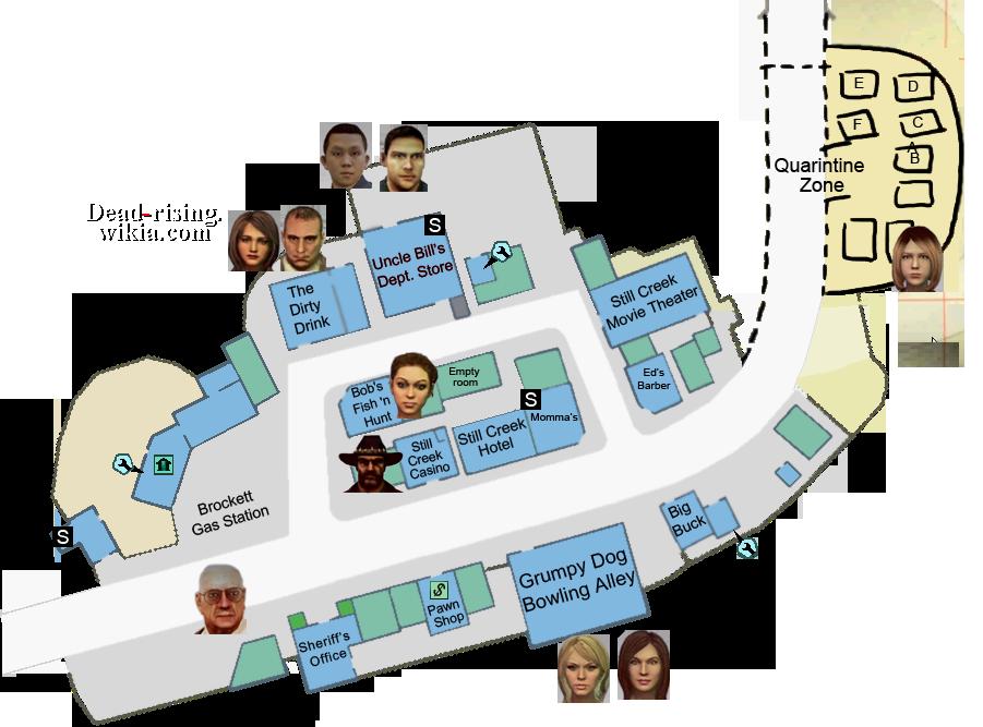 Case 0 map survivors