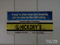 Dead rising hickory construction