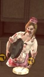 Dead rising case 0 mommas diner zombie waitress pan