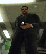 Dead rising Man in Black Outfit xbox live downloaded