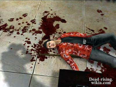 Dead rising burt dead