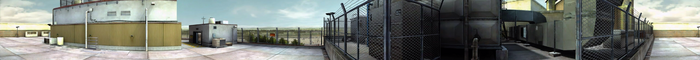 Dead Rising PANORAMA rooftop COMPLETE