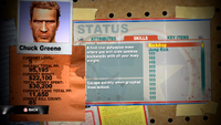 Dead rising 2 case 0 skills backdrop status screen