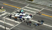 Dead rising 189 brutality man atop white car (2)