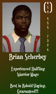 Dead rising 2 Brian Scherbey business card