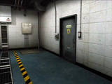 Dead rising secruity room door to entrance plaza hallway