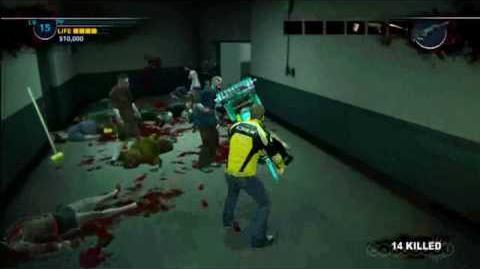 Dead Rising 2 Exsanguinator Gameplay