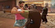 Dead rising 2 Tube top and short skirt