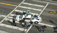 Dead rising 231 brutality man atop white car (5)
