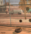 Dead rising case 0 safe house items auto yard tire near fence