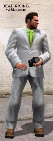 Dead rising downloadable clothing Pure White outfit