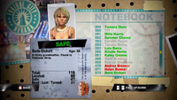 Dead Rising doris notebook