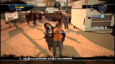 Dead rising 2 Case case 0-3 utility cart pushing 01 quarantine