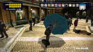 Dead rising parasol hitting zombies in al fresca (3)