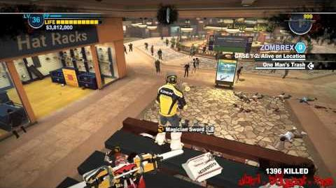 Dead Rising 2 - PC - My Mod's 1st UPDATE - More Items atop Royal Flush Coffee Shop Kiosk