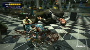 Dead rising Frank hit by weapons cart in seons