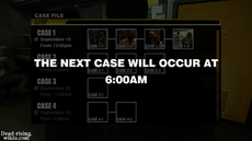 Dead rising case 1-4 security room