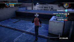 Dead rising 2 case 0 mommas diner roof to bobs (7)