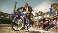 Dead rising bicycle through al fresca
